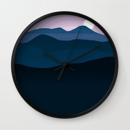 Landscape N2 Wall Clock