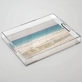 Beach Waves Acrylic Tray
