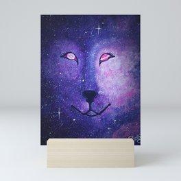 Serendipity - Wolf Dog Painting Mini Art Print