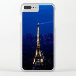 Paris-Tour Eiffel Clear iPhone Case