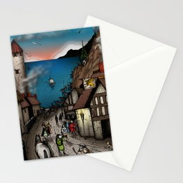 The Golden Hippogriff Stationery Cards