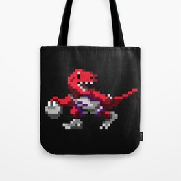 Ballin' Raptor Tote Bag