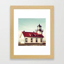 Point Cabrillo Lighthouse Framed Art Print