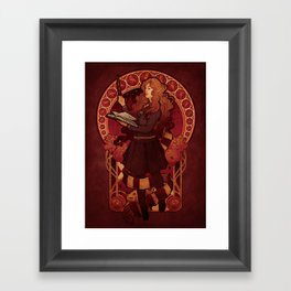 The Brightest Witch of Her Age Framed Art Print