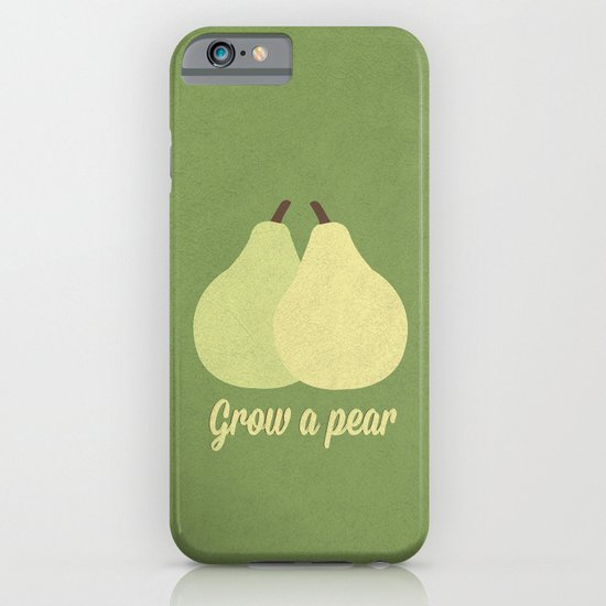 Grow a Pear iPhone & iPod Case