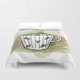 Tittie Tea Cups  Duvet Cover