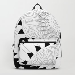 Generative B&W 001 Backpack