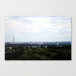 Capital View Canvas Print