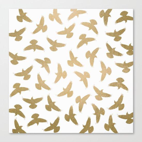 Birds / 2 Canvas Print
