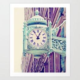 Telling Time Art Print
