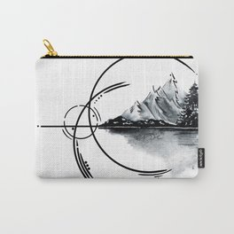 Geometric landscape Carry-All Pouch