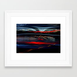 BY-PASS_NY 02 Framed Art Print