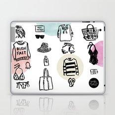 Sister Golden Hair Surprise Laptop & iPad Skin