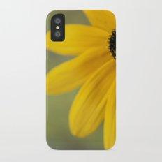 Black Eyed Susan Slim Case iPhone X