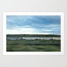 Train' Day Art Print