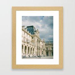 Lourve Wanderings Framed Art Print