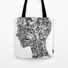 Portrait of Autumn Tote Bag