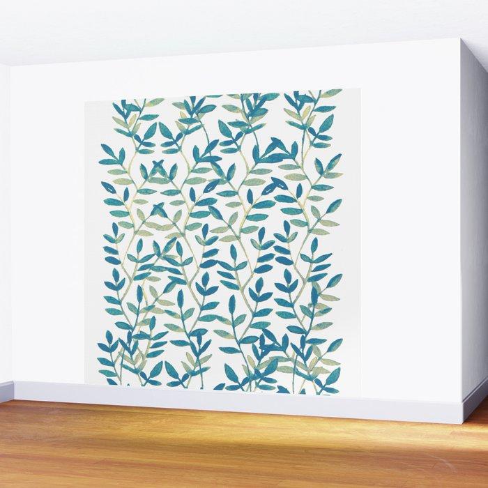 Leaves 6 Wall Mural