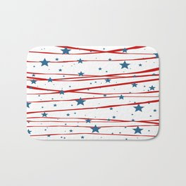 Stars and Stripes Bath Mat