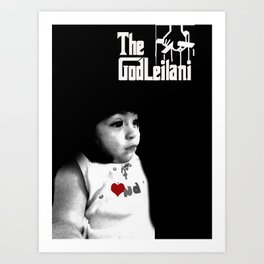 God leilani (a girft for my nephew who didnt decide on what he wanted) Art Print