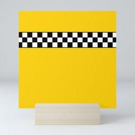NY Taxi Cab Cosplay Mini Art Print
