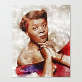 Dinah Washington, Music Legend Canvas Print