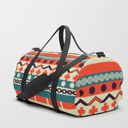 Ethnic lines Duffle Bag