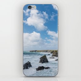 Bedruthan Steps Newquay Cornwall iPhone Skin