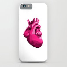 Heart - Pink Slim Case iPhone 6s