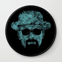 Breaking Bad Heisenberg Blue Wall Clock