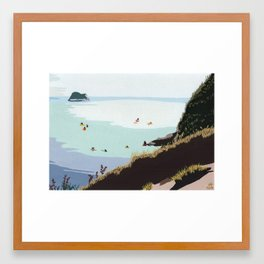 Lilac Hill Framed Art Print