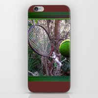 tennis iPhone & iPod Skins featuring tennis by ashouryourartandphotos