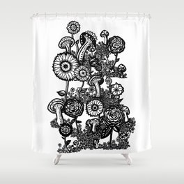 Field of Floweres Shower Curtain