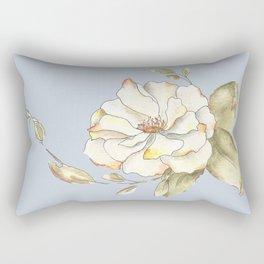 Shrub Rose I Rectangular Pillow