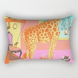 LET'S PARTY! Rectangular Pillow