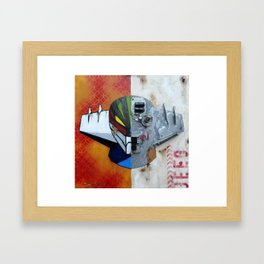 Half roboT Framed Art Print