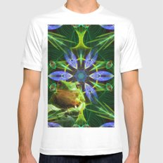 Guardian of the pond MEDIUM White Mens Fitted Tee
