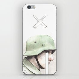 'War' - No winners, only losers and bigger losers. iPhone Skin