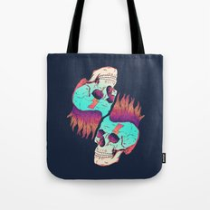 Skull Redux Tote Bag