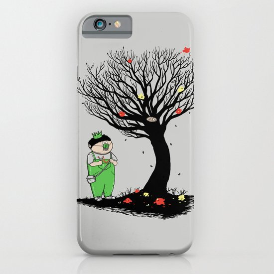 The Egg Collector iPhone & iPod Case