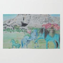 BulbasaurEvolution Horses Rug