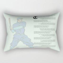 Casey at the Bat Rectangular Pillow