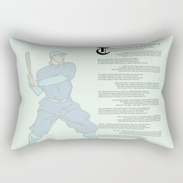 Casey at the Bat Rectangular Pillow