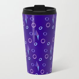Circles and Crystal Travel Mug