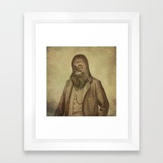 Chancellor Chewman - square format Framed Art Print