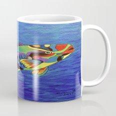 Rainbow parrot fish Mug