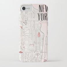 Kate Spade - New York Map iPhone 7 Slim Case