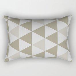 Great Triangle Pattern Rectangular Pillow
