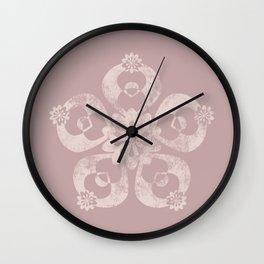 Worn-down Wall Clock