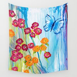 Beautiful Blossoms Wall Tapestry